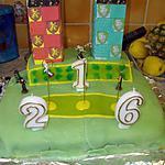 recette gâteau terrain de quidditch
