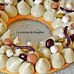 recette Pâte sucrée selon Cyril Lignac, garnie de crème diplomate à la pistache