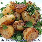 recette Pommes de terres bengalies croustillantes