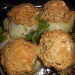 recette Oignons des cevennes farcis