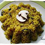 riz jaune (yellow rice )