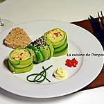 recette Maki de concombre au merlu