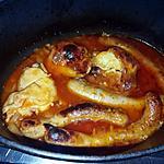 recette Ragoût de poulet et de chipolata