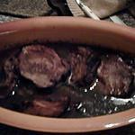 recette ROTI DE PORC  A LA SAUGE ET VIN ROUGE
