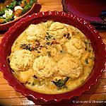 recette Boulettes de pâte et sauce au saumon frais +