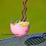 recette Yaourt au sirop d'amour tout rose