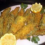 recette Sardines croutillantes à la semoule