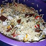 recette Salade d'avoines a l'Italienne