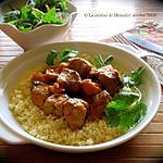 recette Ragoût de porc épicé au lait de coco +