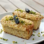 recette Mini-cakes à la pistache et fève tonka (sans gluten)