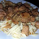 recette Mijoté de rouelle de porc a l'asiatique