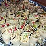 recette Wraps apéro au thon coco et curry