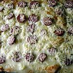 recette PIZZA FRANC-COMTOISE