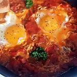 recette Ojja tunisienne {Oeufs à la sauce tomate}