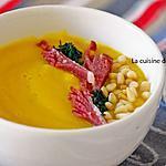 recette Velouté de carotte, courgette et butternut