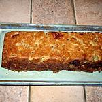 recette Cake à la compote de pommes et au spéculoos (sans oeuf)