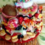 recette gateau bonbons  10 ans de norah