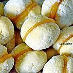 recette Biscuit au beurre garni de lemon curd