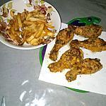 recette Poulet frit comme au KFC