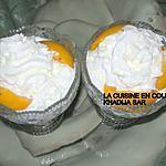 recette Abricots ou pêches à la crème