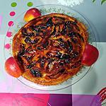 recette Maxi crêpe aux pommes  à la  cannelle et d'orange  &  flambée au rhum d'orange