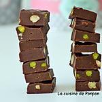recette Fudge au chocolat et fruits secs