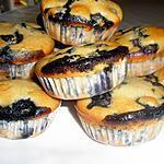 recette Muffins myrtille et lait de coco sans beurre
