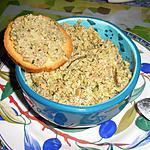 recette Tapenade verte à la poudre d'amande