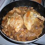 recette pintade au cidre et champignon