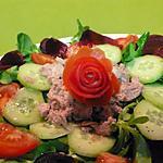 recette salade de thon et ses légumes