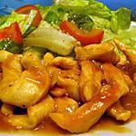 recette émincés de poulet chasseur