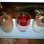 recette Verrines de bavarois vanille chocolat ou bavarois chocolat