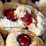 recette Amaretti au sirop de grenade et pointe de cranberry