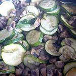 recette Champignons-courgettes à la provençale