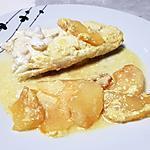 recette Papillote de merlu aux pommes et aux épices