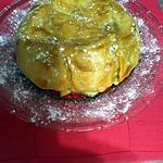 recette Tarte dôme XL aux pommes et figues moelleuses façon Lauranou