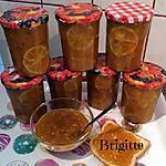 recette CONFITURE POTIMARRON/ORANGE