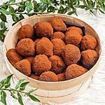 recette Truffes à la crème de châtaignes, au chocolat et au rhum