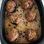 recette Champignons farcis à la viande