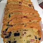 recette CAKE OLIVES JAMBON