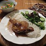 recette Cuisses de canard à l'asiatique +