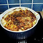 recette gratin de knaki avec pomme de terre et courgette