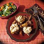 recette Recyclage express: palette de veau aux légumes