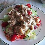 recette Salade de pain