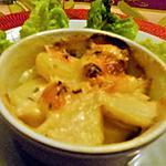 recette Petit gratin vite fait pommes de terre et munster au cumin