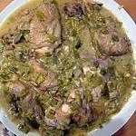 recette poulet au poireaux