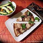 recette Pizza au canard effiloché
