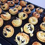 recette Tartelettes feuilletés pommes boudins noirs oignons