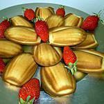 recette Madeleine au chocolat blanc