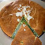 recette Gâteau à la rhubarbe et aux amandes